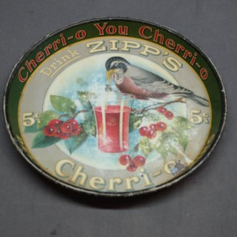 Drink Zipp's 5 Cent Cherri-O You Cherri-O Delicious- Refreshing Tray