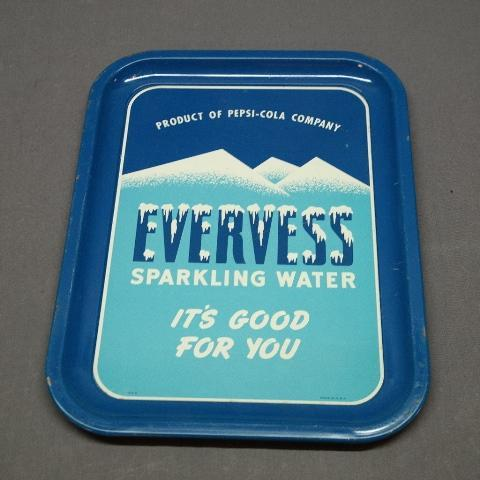 Evervess Sparkling Water Tray- Dark Blue