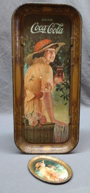 1916 Drink Coca Cola Tip and Serving Tray