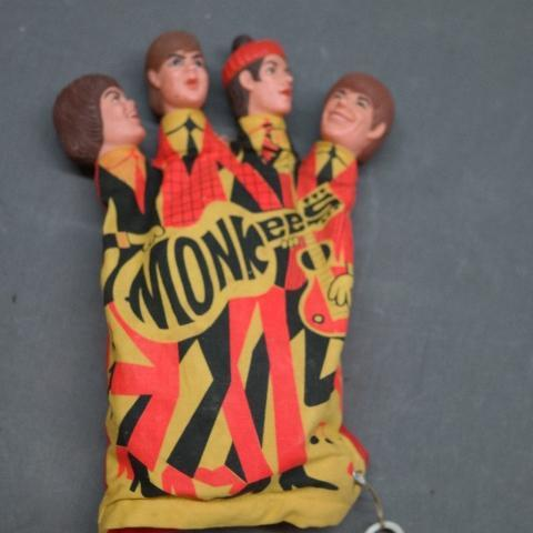 1966 Mattel Monkees Talking Finger Puppet