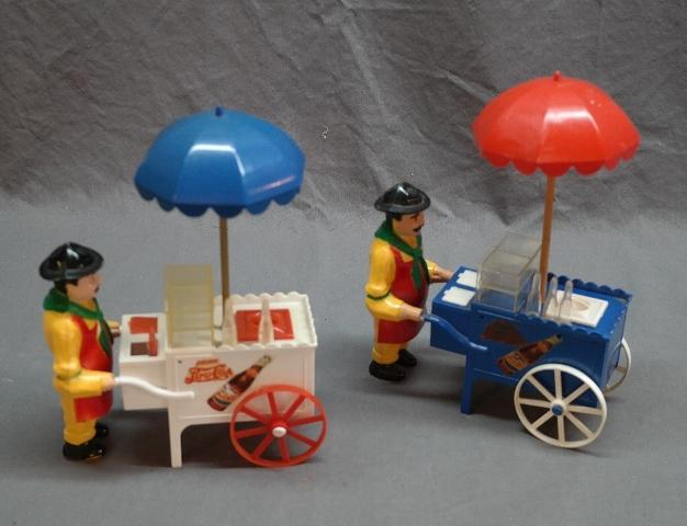 1940s Pepsi-Cola Hot Dog Car Vendors Made by Ideal Toys