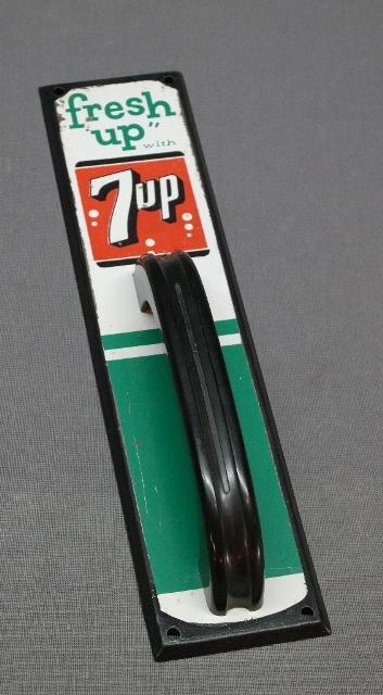 Fresh Up with 7 Up Door Push with Handle