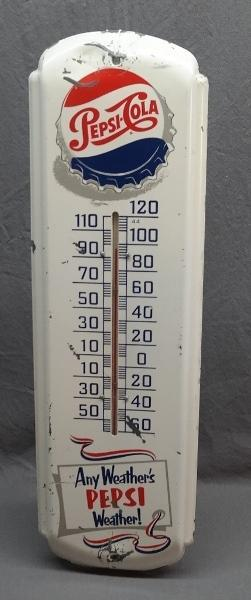 Any Weather's Pepsi Weather Advertising Thermometer