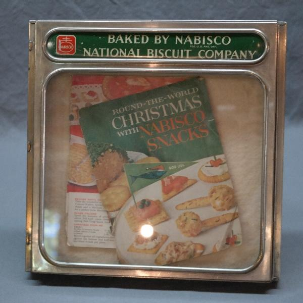 Nabisco Biscuits Company Cookie/Bakery Display Box Lid with Glass