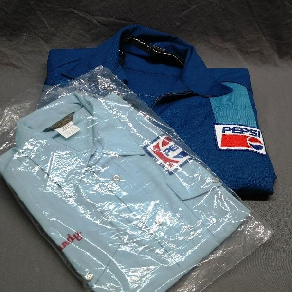 1960s/1970s Pepsi Uniform Shirt and Jacket