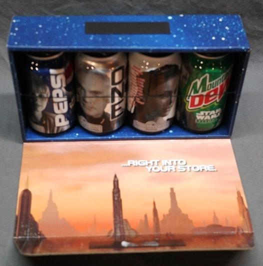 Star Wars Episode I Pepsi Can Set in Original Gift Box