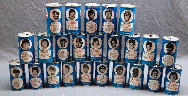 Lot of 24 Vintage RC MLB Baseball Royal Crown Cola Soda Cans