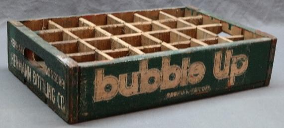 24 Bottle Bubble UP Crate- Herman, Bottling Co- Herman Missouri