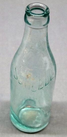 Scarce Scheele Straight Side Soda Bottle Fort Wayne Indiana