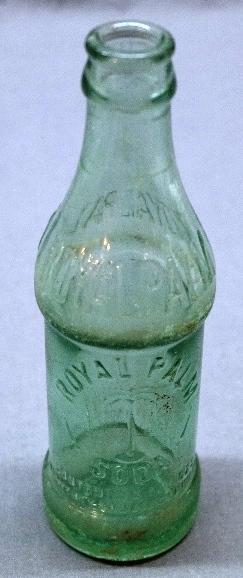 Scarce Coca-Cola Royal Palm Soda Bottle- Jacksonville, Fl