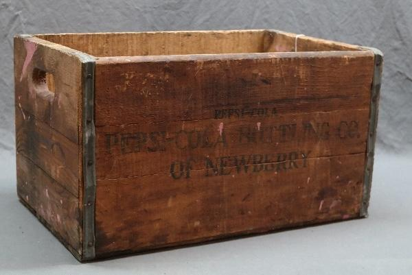 Scarce PEPSI-COLA of Newberry Wood Crate