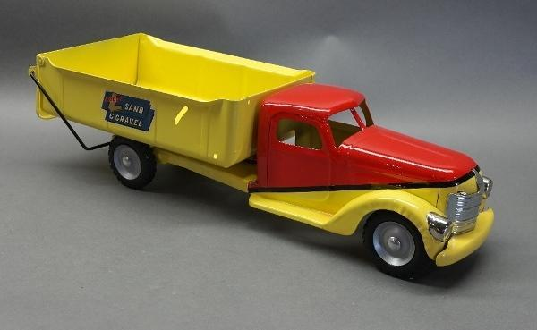Buddy L Sand and Gravel Dump Truck- Restored
