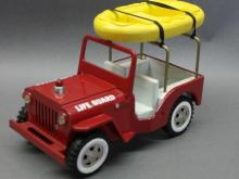 Tonka Life Guard Rescue Jeep with Raft