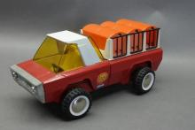 Buddy L Zoo Truck with Cages- Turban