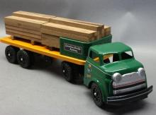 Wyandotte Canadian Pacific Express  Truck- Flatbed with load- Restored