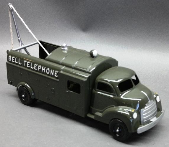 Hubley Bell Telephone Service Truck- Restored