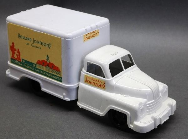 Marx Plastic Howard Johnson Restaurant Delivery Truck- Original