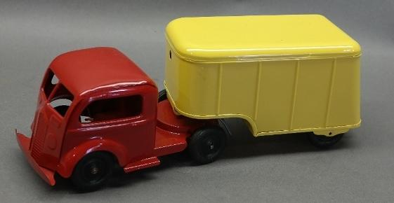 Kingsbury Wind Up Delivery Truck- Restored.