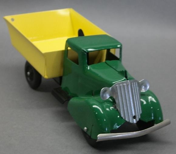 Wyandotte  Rooster Comb Dump Truck- Restored