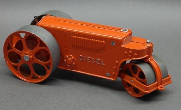 Hubley Diesel Road Roller 480- Dk Orange