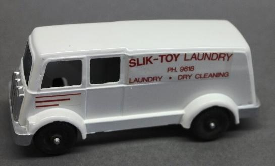 Slik Toys Laundry Delivery Van- Restored