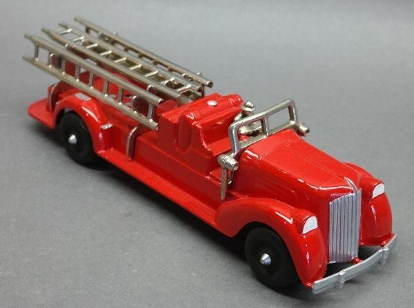 Hubley Ladder Truck with Nickel Driver- restored