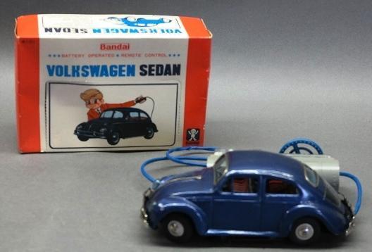 Battery Operated Remote Control Volkswagen Sedan by Bandai in Original box