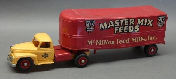 Master Mix Feeds Semi Truck- Plastic Toy by Product Miniatures