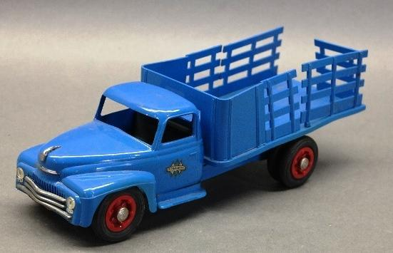 International Stake Side Plastic Truck by Product Miniatures- 1950s