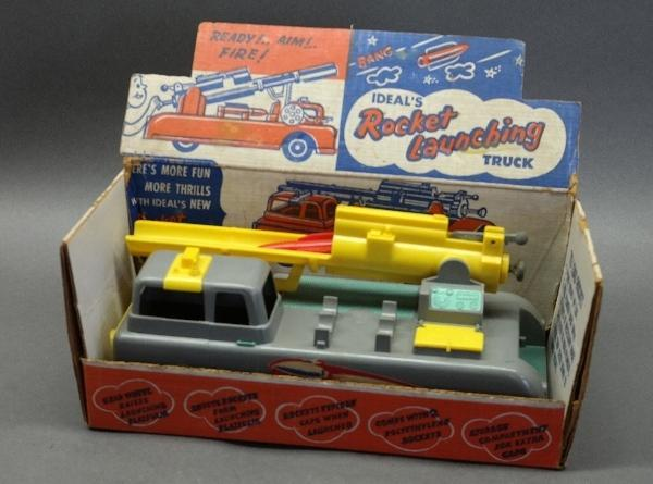 Rocket Launching Truck by Ideal in Original Box