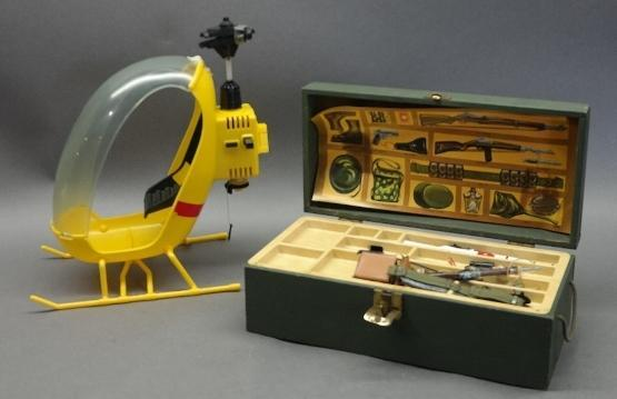 1960s GI Joe Adventure  Footlocker with Contents