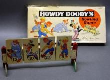 1949  Howdy Doody Bowling Game by Parker Brothers