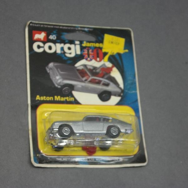 1978 James Bond Aston Martin with Ejectable Figure by Corgi - Original Package