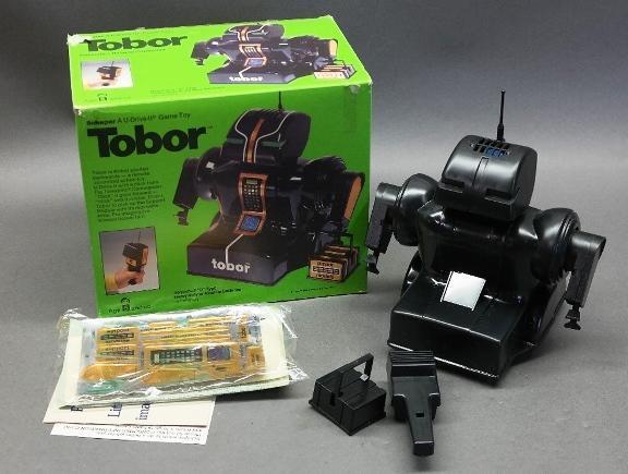1978 Tobor Telesonic Remote Control Robot in Box by Schaper