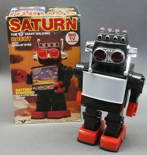 Battery Operated Saturn The 13