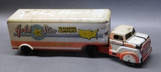 Gold Star Transfer Company Semi Truck by Marx