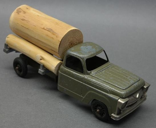 Hubley Log Truck with Nickel Grill