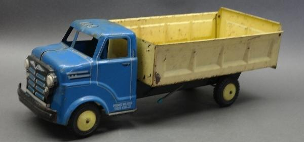 Lumar Dump Truck with Blue Cab