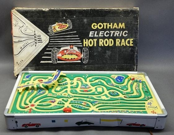 Gotham Electric Hot Rod Race in box