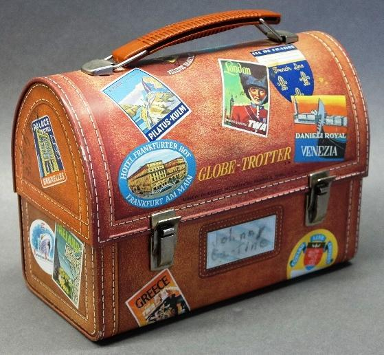 World Traveler Dome Lunchbox by Aladdin