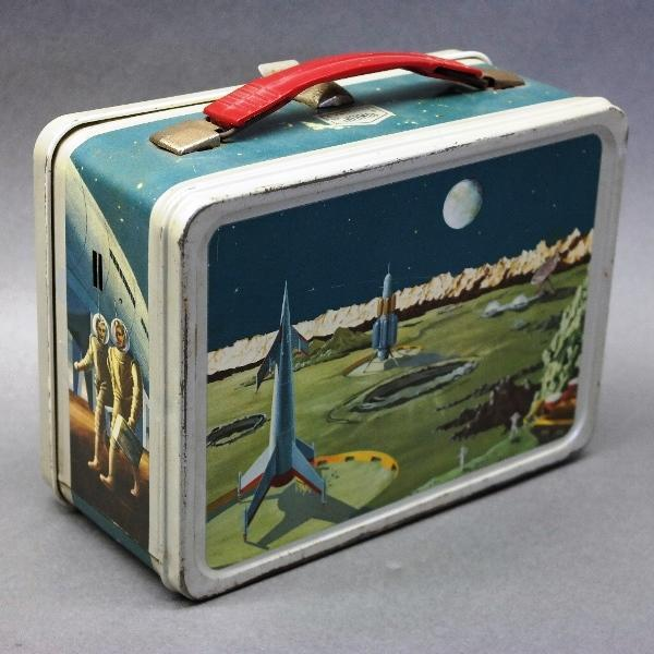 1950s Satellite Lunchbox by Thermos