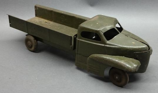1930s-40s Buddy L Army Truck
