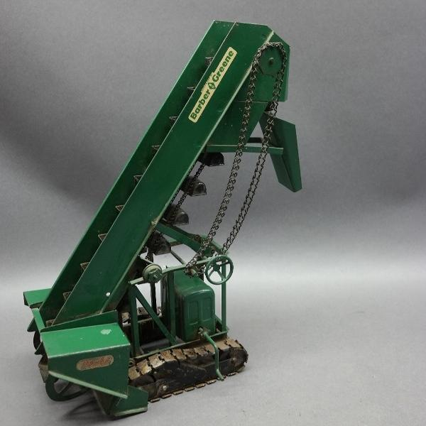 Doepke MODEL TOYS Barber Greeen Sand/Gravel Loader