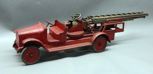 BUDDY L Aerial Ladder Fire Truck