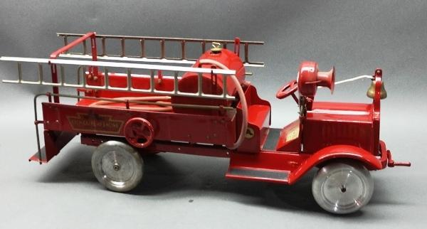 KEYSTONE Chemical Pump Fire Tanker Truck-Restored