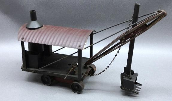 Buddy L Steam shovel- All Original