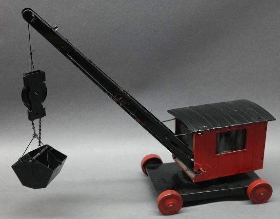 Turner Steam Shovel/Clamshell- Restored