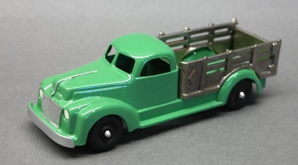 Hubley Stake Side Truck with Nickeled Bed Rails- Restored
