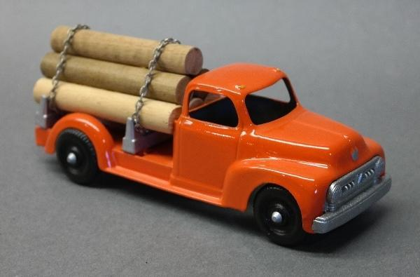 Hubley 452 Log Truck with Load- Restoed