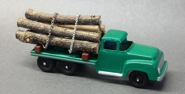 Tootsie Toy Log Pick Up Truck- Restored
